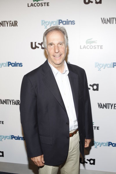 ROYAL PAINS -- The Royal Pains/Vanity Fair VIP In Store Event at Lacoste Fifth Avenue, New York City, Tuesday June 1st, 2010 -- Pictured: Henry Winkler -- Photo by: Jason DeCrow/USA Network