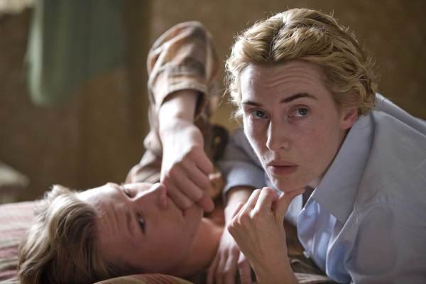 "Kate Winslet in ""The Reader."""