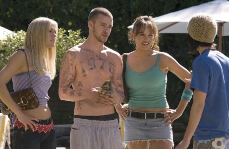 """Dominique Swain , Justin Timberlake, Charity Shea and Christopher Marquette star in """"Alpha Dog."""""""