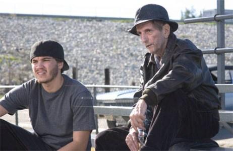 """Emile Hirsch and Harry Dean Stanton star in """"Alpha Dog."""""""