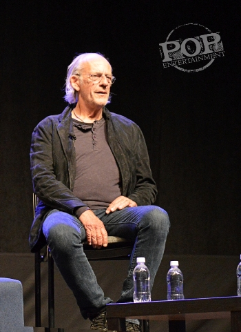 Christopher Lloyd talks Back to the Future at Wizard World Philly 2016 - Photo by Debbie Wagner.