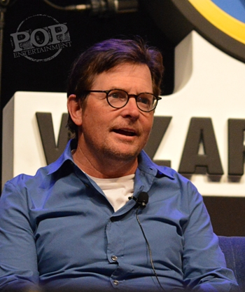 Michael J Fox talks Back to the Future at Wizard World Philly 2016 - Photo by Debbie Wagner.