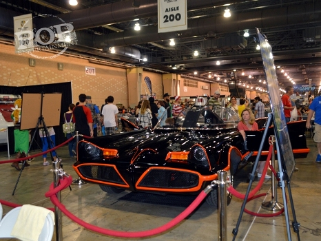 Batmobile at Wizard World Philly 2016 - Photo by Debbie Wagner.
