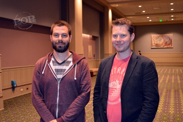 Alon Benari and Sam Barlow at Wizard World Philadelphia Comic-Con at the Philadelphia Convention Center on June 3, 2016.