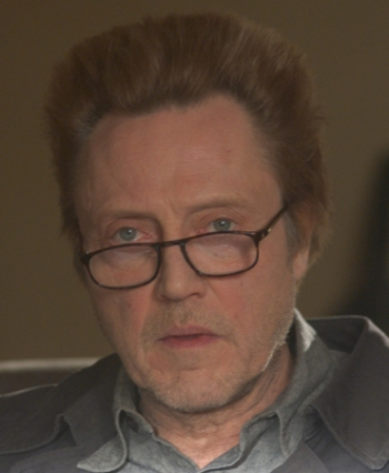 "Christopher Walken stars in ""Around the Bend."""