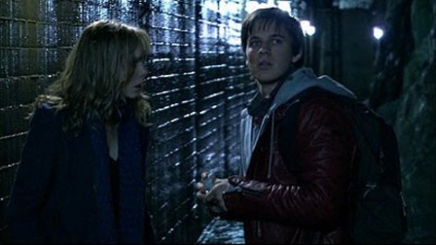 "Amanda Walsh and Matt Lanter star in ""WarGames: The Dead Code."""