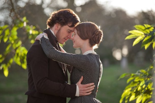 """Michael Fassbender and Mia Wasikowska star in """"Jane Eyre."""""""