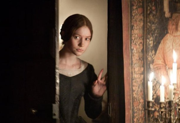 "Mia Wasikowska stars in ""Jane Eyre."""