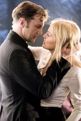 David Morrissey and Sharon Stone in Basic Instinct 2