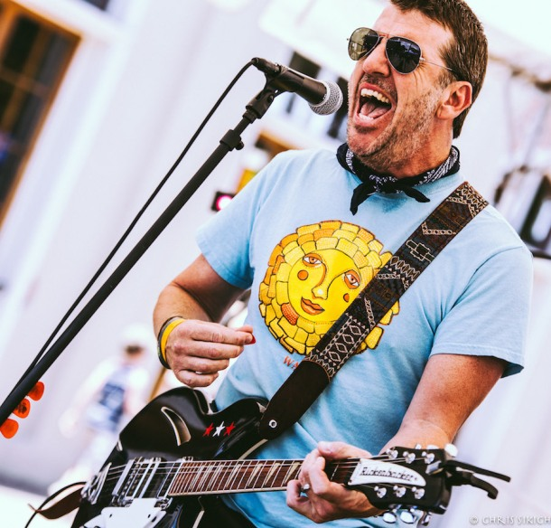 Dodd Ferrelle & the Winter Villains – Athfest – Hull St. Stage – Athens, GA – June 25, 2016 – Photo by Chris Sikich © 2016