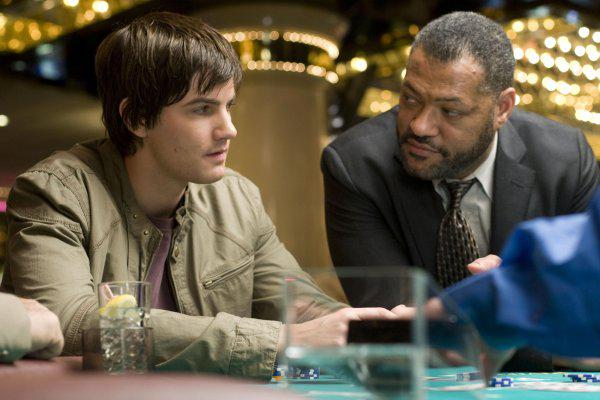 "Jim Sturgess and Laurence Fishburne star in ""21."""