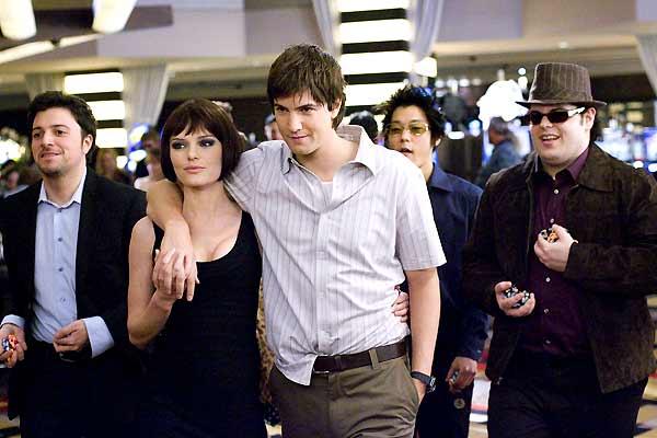 "Sam Golzari, Jim Sturgess and Kate Bosworth, Aaron Yoo and Josh Gad star in ""21."