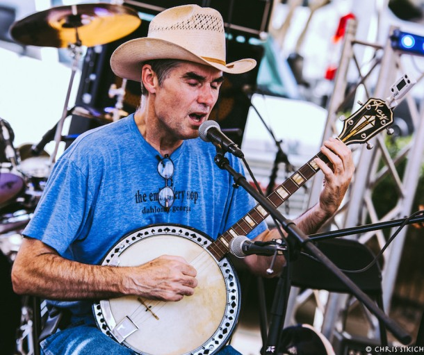 Jim White and Friends – Athfest – Hull St. Stage – Athens, GA – June 24, 2016 – Photo by Chris Sikich © 2016