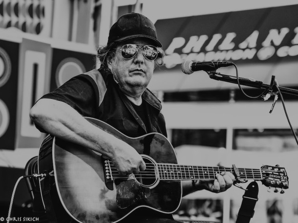 Kevn Kinney – Athfest – Pulaski St. Stage – Athens, GA – June 24, 2016 – Photo by Chris Sikich © 2016