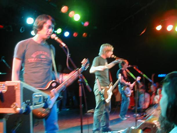 Switchfoot at the Roxy, Los Angeles