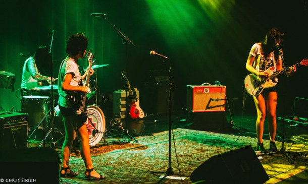 The Coathangers – Athfest – Georgia Theater Main Stage – Athens, GA – June 24, 2016 – Photo by Chris Sikich © 2016