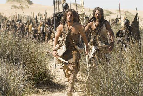 "Steven Strait in ""10000 BC."""