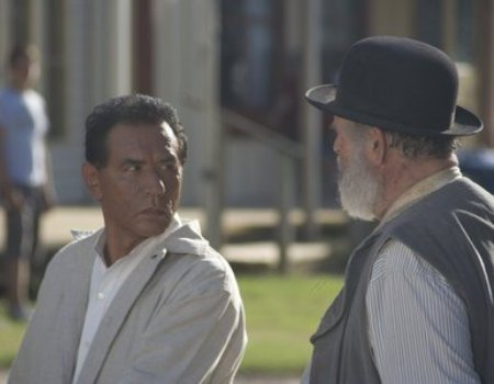Wes Studi in The Only Good Indian