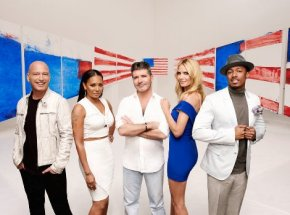 Simon Cowell and Mel B – Keeping Watch on America'sTalent