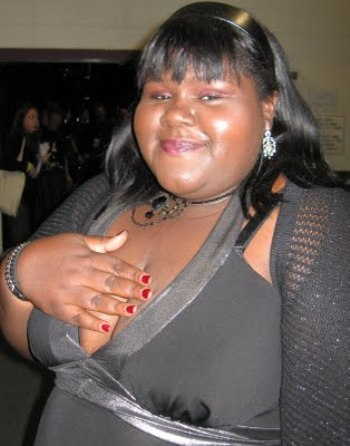 Gabourey Sibide at the Sundance Film Festival