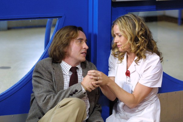 Steve Coogan and Elisabeth Shue in Hamlet 2.