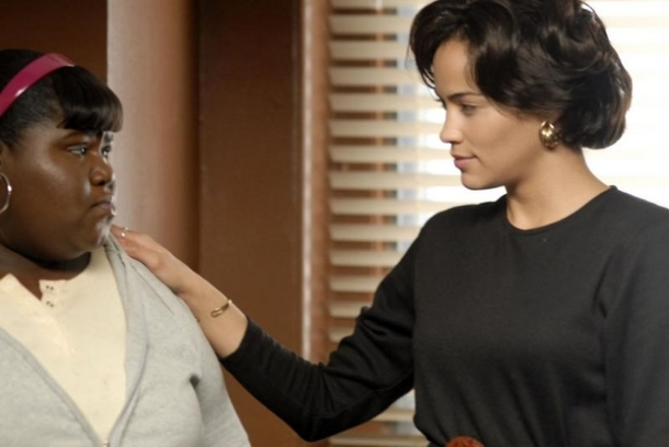 Gabourey Sibide and Paula Patton star in Precious: Based on the Novel Push by Sapphire