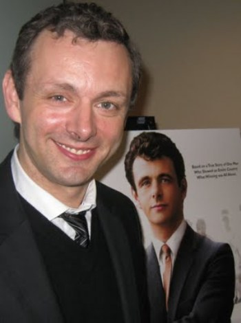 "Michael Sheen at the NY press day for ""The Damned United."""