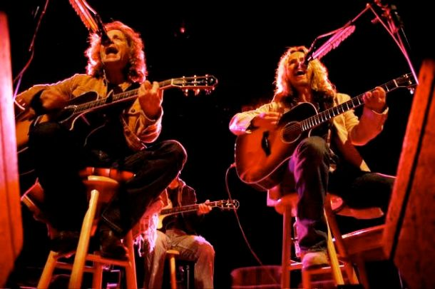 Jack Blades and Tommy Shaw playing at the TLA in Philadelphia