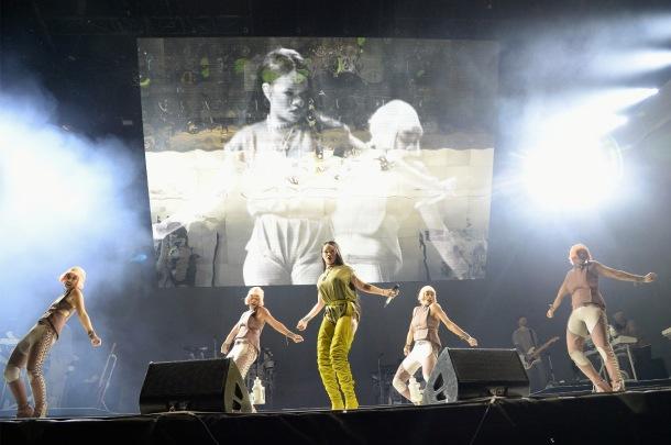 Rihanna at Made In America Festival