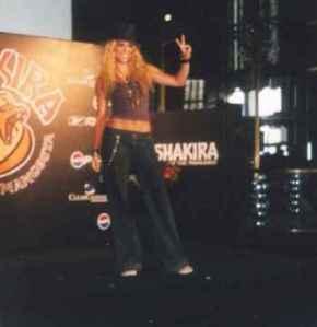 Shakira – TourService
