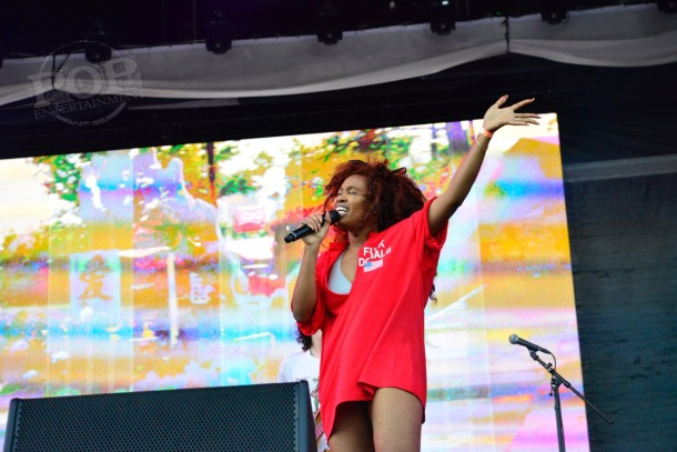 SZA at Made In America Festival