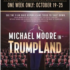 Michael Moore in TrumpLand (A PopEntertainment.com Movie Review)