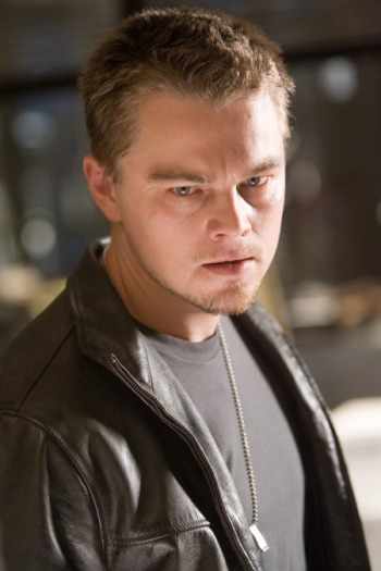 "LEONARDO DiCAPRIO stars as Billy Costigan, a state trooper who takes on a dangerous undercover assignment, in Warner Bros. Pictures' crime drama ""The Departed."""