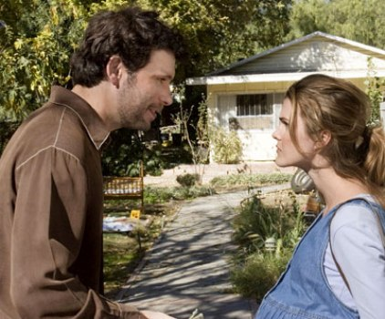 "Jeremy Sisto and Keri Russell in ""Waitress."""