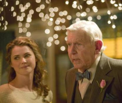 "Keri Russell and Andy Griffith in ""Waitress"""