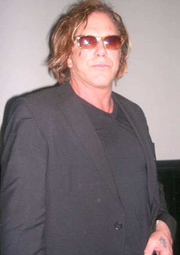 "Mickey Rourke at the New York press day for ""The Wrestler."""