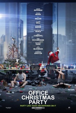 Office Christmas Party (A PopEntertainment.com Movie Review)