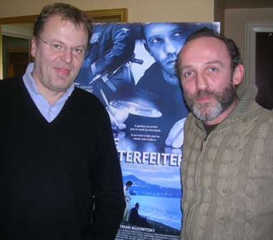 "Stefan Ruzowitsky and Karl Markovics at the NY Press day for ""The Counterfeiters."""