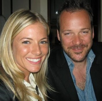 "Sienna Miller and Peter Sarsgaard at the New York press day for ""The Mysteries of Pittsburgh."""