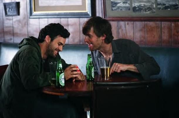"Mark Ruffalo and Peter Krause in ""We Don't Live Here Anymore."""