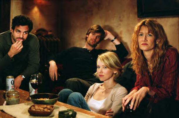 """Mark Ruffalo, Peter Krause, Naomi Watts and Laura Dern in """"We Don't Live Here Anymore."""""""