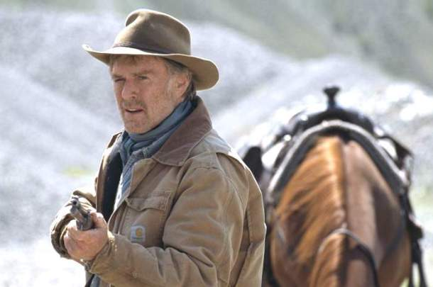 "Robert Redford in ""An Unfinished Life."""