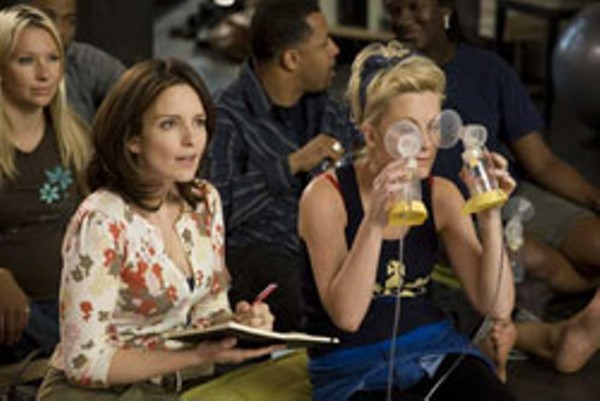 "Tina Fey and Amy Poehler in ""Baby Mama."""