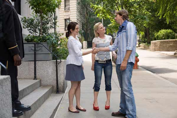 "Tina Fey, Amy Poehler and Dax Shepard in ""Baby Mama."""