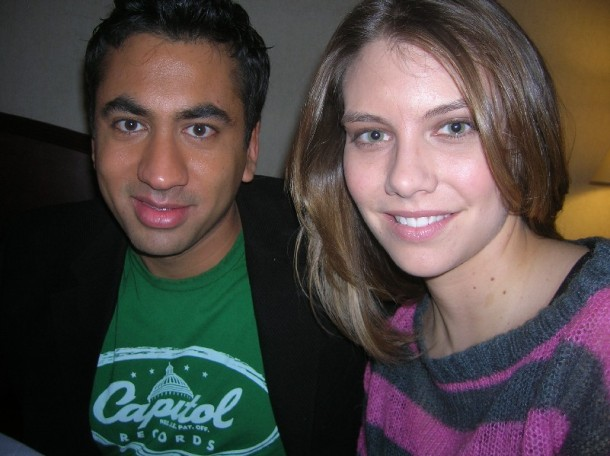 "Kal Penn and Laura Cohan at the New York press day for ""Van Wilder: The Rise of Taj."""