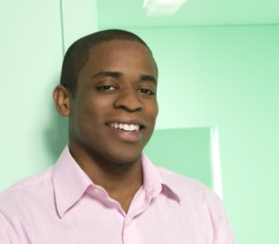 "PSYCH -- Pictured: Dule Hill as Burton ""Gus"" Guster -- USA Network Photo: Matthias Clamer"