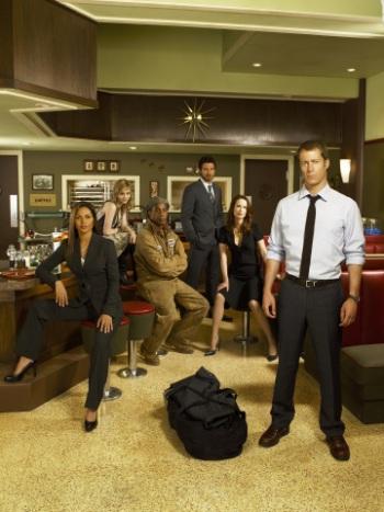 "The cast of ""Eureka."""