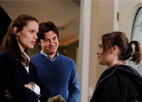 """Jennifer Garner, Jason Bateman and Ellen Page in """"Juno"""""""