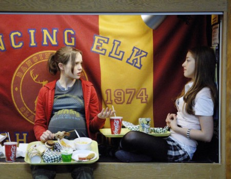 "Ellen Page and Olivia Thirlby in ""Juno"""