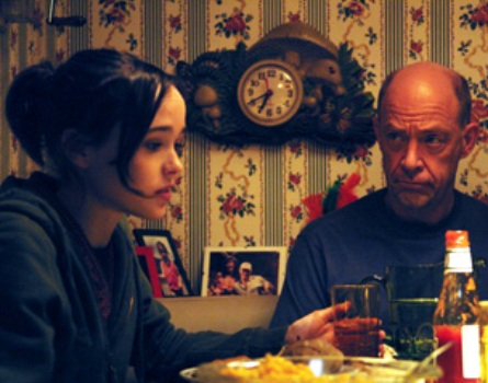 "Ellen Page and J.K. Simmons in ""Juno"""